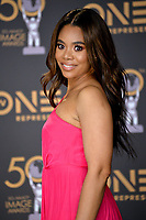 LOS ANGELES, CA. March 30, 2019: Regina Hall at the 50th NAACP Image Awards.<br /> Picture: Paul Smith/Featureflash