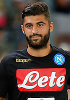 Sebastiano Luperto  during the friendly soccer match,between SSC Napoli and Onc Nice      at  the San  Paolo   stadium in Naples  Italy , August 01, 2016<br />  during the friendly soccer match,between SSC Napoli and Onc Nice      at  the San  Paolo   stadium in Naples  Italy , August 02, 2016