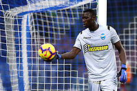 Alfred Gomis of SPAL during the Serie A 2018/2019 football match between SSC Napoli  and Spal at stadio San Paolo, Napoli, December 22, 2018 <br />  Foto Cesare Purini / Insidefoto