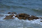 Coquina Rock at Summer Haven Beach, Saint Augustine, Florida, USA