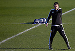 Head coach Gary Neville takes training - UEFA Champions League -  Official pre match Training Session and press conference - Valencia CF vs Lyon  - Paterna Training Ground - Valencia - Spain - 8th December 2015 - Pic David Aliaga/Sportimage