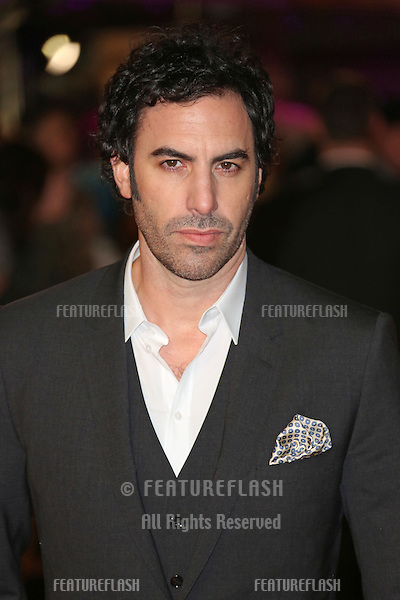 Sasha Baron Cohen arriving at the World Premiere of 'Les Miserables' held at the Odeon & Empire Leicester Square, London. 05/12/2012 Picture by: Henry Harris / Featureflash