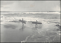 BNPS.co.uk (01202 558833)<br /> Pic: Bonhams/BNPS<br /> <br /> Fascinating 120 year-old images of Hawaii including native surfers carrying their boards along a sandy beach have been unearthed.<br /> <br /> They provide a snapshot into life on the tropical paradise island and include intimate images of the native population.<br /> <br /> The photographs were taken by Herbert Smith, a draper from Manchester, who was living in Hawaii in the 1890s and have remained in the family since then.<br /> <br /> But they have now decided to put the collection, which includes letters documenting his travels, up for auction and it is tipped to sell for &pound;2,500.