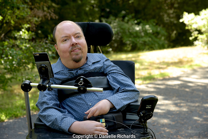 Daniel Florio, who is a quadriplegic as a result of spinal muscular atrophy, worries about the future once his parents are no longer able to help with his care.  He requires 24-hour care, which is only partially covered by Medicaid.  His parents cover the other hours.