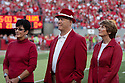 26 September 2009: Former Nebraska Head Coach Bob Devaney's family was at the Louisiana-Lafayette game to celebrate the 300th consecutive sellout at Memorial Stadium, Lincoln, Nebraska. Nebraska defeats Louisiana Lafayette 55 to 0.