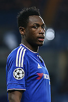 Abdul Rahman Baba of Chelsea during the UEFA Champions League Group match between Chelsea and Dynamo Kyiv at Stamford Bridge, London, England on 4 November 2015. Photo by David Horn.
