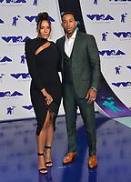 Ludacris (Chris Bridges) &amp; Eudoxie Mbouguiengue at the 2017 MTV Video Music Awards at The &quot;Fabulous&quot; Forum, Los Angeles, USA 27 Aug. 2017<br /> Picture: Paul Smith/Featureflash/SilverHub 0208 004 5359 sales@silverhubmedia.com