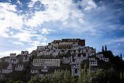 Thiksey Monastery in Leh, Ladakh region in Kashmir, India
