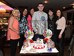 Darren Arnold celebrating his 21st birthday in Daly's of Donore with all his aunts. Photo:Colin Bell/pressphotos.ie