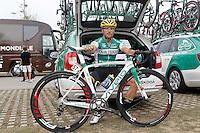Aitor Galdos before the stage of La Vuelta 2012 beetwen Santander-Fuente De.September 5,2012. (ALTERPHOTOS/Acero) /NortePhoto.com<br /> <br /> **CREDITO*OBLIGATORIO** *No*Venta*A*Terceros*<br /> *No*Sale*So*third* ***No*Se*Permite*Hacer Archivo***No*Sale*So*third
