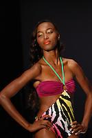 Kanomi Swimwear-Venezula Model at Miami Beach International Fashion Week, Miami Beach Convention Center, Miami, FL - March 3, 2011
