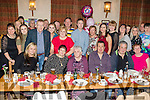 Mighty 80<br /> -------------<br /> Bridie McCarthy, Ardfert, seated centre, had a great night in Kate Browns in the village last Saturday celebrating her 80th birthday along with many friends and family.