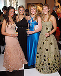 "Nicole Jawanmardi, Jordan Cane, Elizabeth Lishewski and Katie Decker at the San Luis Salute to ""The Italian Riviera"" at the Galveston Island Convention Center at the San Luis Friday  Feb. 20, 2009.(Dave Rossman/For the Chronicle)"