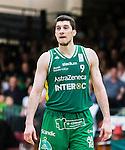 S&ouml;dert&auml;lje 2015-04-10 Basket SM-Semifinal 5 S&ouml;dert&auml;lje Kings - Sundsvall Dragons :  <br /> S&ouml;dert&auml;lje Kings Toni Bizaca under matchen mellan S&ouml;dert&auml;lje Kings och Sundsvall Dragons <br /> (Foto: Kenta J&ouml;nsson) Nyckelord:  S&ouml;dert&auml;lje Kings SBBK T&auml;ljehallen Sundsvall Dragons portr&auml;tt portrait