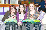 Youth: Pictured at Listowel Youth Cafe on Friday night are Lisa McDonough, Deirdre O'Donnell & Sinead O'Sullivan.