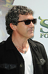 "UNIVERSAL CITY, CA. - May 16: Antonio Banderas arrives at the ""Shrek Forever After"" Los Angeles Premiere at Gibson Amphitheatre on May 16, 2010 in Universal City, California."