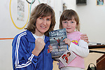 Deirdre Gogarty visits Moneymore Boxing Club 29/9/12