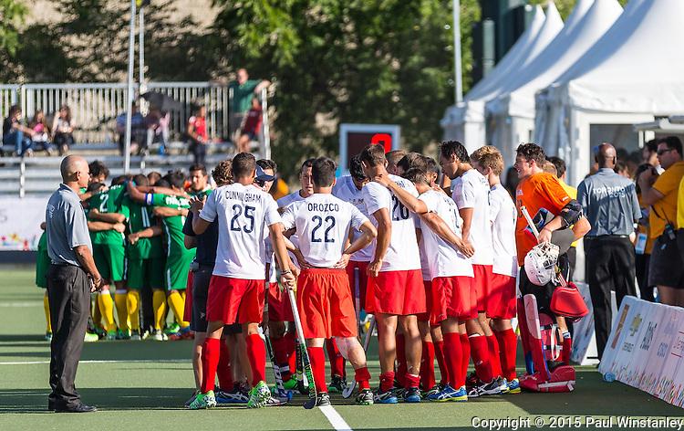 USA Men vs Brazil Men at Pan Am Games 2015 in Toronto, Ontario, Canada