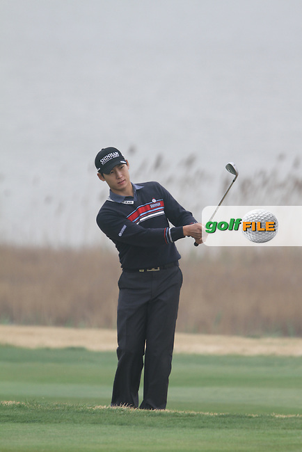 Kim Meen-whee (KOR) on the 3rd on Day 2 of the 2012 Volvo China Open at Binhai Lake Golf Club, Tianjin, China...(Photo Jenny Matthews/www.golffile.ie)