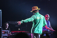 SÃO PAULO,SP,08 FEVEREIRO 2013 -SHOW JAMIROQUAI -Show da banda Jamiroquai realizado na noite de ontem (07) no Credicard Hall na regiao sul da capital paulista.  FOTO ALE VIANNA  - BRAZIL PHOTO PRESS.