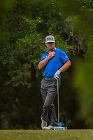 Charley Hoffman (USA) waits to tee off on 14 during Round 3 of the Valero Texas Open, AT&amp;T Oaks Course, TPC San Antonio, San Antonio, Texas, USA. 4/21/2018.<br /> Picture: Golffile | Ken Murray<br /> <br /> <br /> All photo usage must carry mandatory copyright credit (&copy; Golffile | Ken Murray)