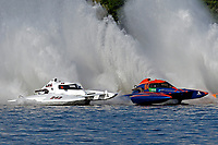 Bobby King, H-242, Marc Lecompte, H-104    (H350 Hydro) (5 Litre class hydroplane(s)