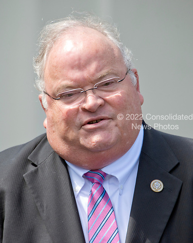 United States Representative Billy Long (Republican of Missouri) announces his support for the GOP health care plan at the White House in Washington, DC following a meeting with US President Donald J. Trump and other members of the Republican Caucus on Wednesday, May 3, 2017.<br /> Credit: Ron Sachs / CNP