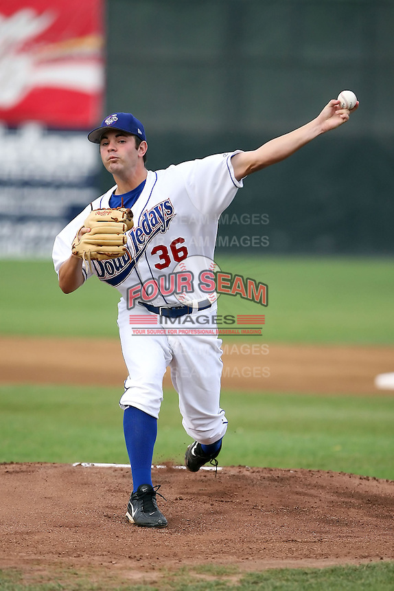 August 24th, 2007:  Mark Rzepczynski of the Auburn Doubledays, Class-A affiliate of the Toronto Blue Jays at Falconer Park in Auburn, NY.  Photo by:  Mike Janes/Four Seam Images