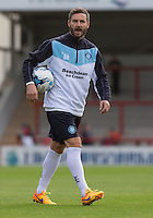 Wycombe Wanderers Goalkeeping Coach Barry Richardson during the Sky Bet League 2 match between Morecambe and Wycombe Wanderers at the Globe Arena, Morecambe, England on 18 August 2015. Photo by Andy Rowland.
