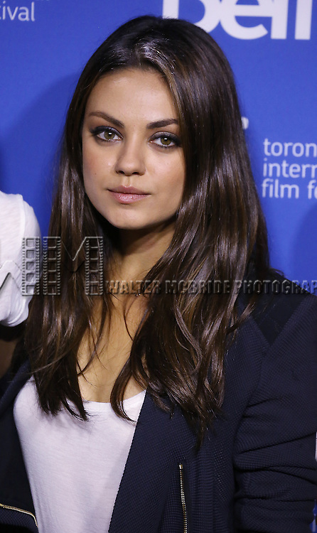 """Mila Kunis attending the 2013 Tiff Film Festival Photo Call for """"Third Person""""  at the Tiff Bell Lightbox on September 10, 2013 in Toronto, Canada."""