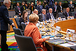 BRUSSELS - BELGIUM - 12 December 2019 -- EU-Summit with Heads of State - European Council meeting - Presidency of Finland. -- Sanna Marin, Prime Minister of Finland during her first EU-Summit as PM. -- PHOTO: Juha ROININEN / EUP-IMAGES
