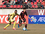 Pohang Steelers vs Ha Noi T&T during their 2016 AFC Champions League Playoff 1 East on February 9, 2016 at the Pohang Steelyard in Pohang, South Korea. Photo by Lee Jae-Won / Power Sport Images
