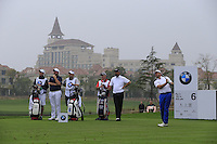 Graeme McDowell (NIR) tees off the 6th tee during Saturay's Round 3 of the 2014 BMW Masters held at Lake Malaren, Shanghai, China. 1st November 2014.<br /> Picture: Eoin Clarke www.golffile.ie