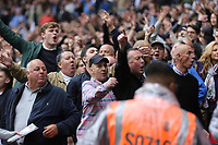 Millwall fans taunt the Bradford City supporters during Bradford City vs Millwall, Sky Bet EFL League 1 Play-Off Final at Wembley Stadium on 20th May 2017