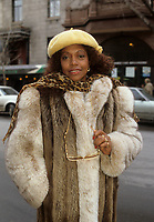 Montreal (Qc) CANADA - File Photo - Circa 1986 - EXCLUSIVE PHOTO - <br /> La Compagnie Creole pose in front of the Saint-Denis Theater.<br /> <br /> -Photo (c)  Images Distribution