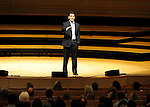 Daniel Pink speaks at the Rene and Henry Segerstrom Concert Hall in Costa Mesa. 2010