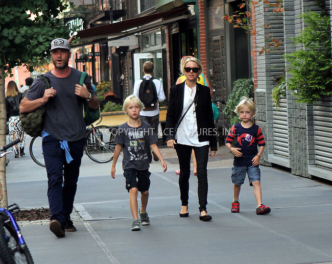 ACEPIXS.COM<br /> <br /> September 15 2014, New York City<br /> <br /> Actors Liev Schreiber and Naomi Watts walk in the East Village with their kids Samuel and Alexander on September 15 2014 in New York City<br /> <br /> By Line: Nancy Rivera/ACE Pictures<br /> <br /> ACE Pictures, Inc.<br /> www.acepixs.com<br /> Email: info@acepixs.com<br /> Tel: 646 769 0430