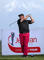 Troy Rophia during the Charles Tour Augusta Funds Management Ngamotu Classic, Ngamotu Golf Course, New Plymouth, New Zealand, Saturday 14 October 2017.  Photo: Simon Watts/www.bwmedia.co.nz