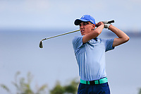 Matthew O'Brien (ELM Park) during the final round at Carnalea Golf Club, Bangor, Antrim, Northern Ireland. 07/08/2019.<br /> Picture Fran Caffrey / Golffile.ie<br /> <br /> All photo usage must carry mandatory copyright credit (© Golffile | Fran Caffrey)