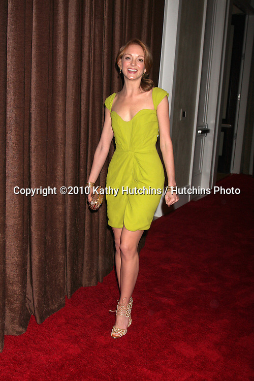 Jayma Mays.arriving at the 2010 Costume Designer's Guild Awards.Beverly Hilton Hotel.Beverly Hills, CA.February 25, 2010.©2010 Kathy Hutchins / Hutchins Photo....