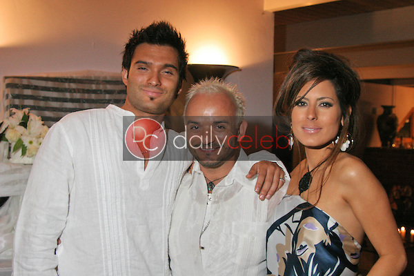 Diego Varas, Sergio Lopez and Kerri Kasem<br />