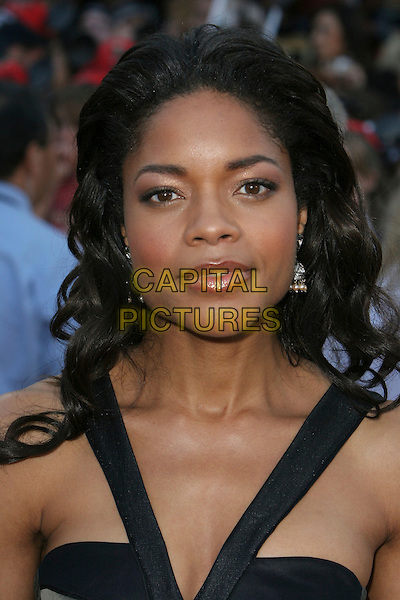 "NAOMIE HARRIS.""Pirates Of The Caribbean: At World's End"" World Premiere held at Disneyland, Anaheim, California, USA,.19 May 2007..portrait headshot naomi black straps.CAP/ADM/CH.©Charles Harris/AdMedia/Capital Pictures."