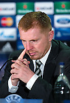 Neil Lennon at press conference