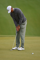 Tiger Woods (USA) lips out his putt on 18 during day 4 of the WGC Dell Match Play, at the Austin Country Club, Austin, Texas, USA. 3/30/2019.<br /> Picture: Golffile | Ken Murray<br /> <br /> <br /> All photo usage must carry mandatory copyright credit (© Golffile | Ken Murray)