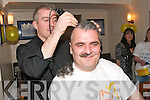 hair today gone tomorrow.------------------------.peter hawkins from hawley pk tralee had his head shaved by joe o brien the barbers ashe st tralee in the newly refurbished bar at the kerins o rahillys gaa club house last saturday night in aid of irish cancer society----   Copyright Kerry's Eye 2008