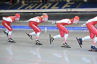 SCHAATSEN: HEERENVEEN: 23-06-2014, IJsstadion Thialf, Zomerijs training, ©foto Martin de Jong