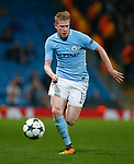Kevin De Bruyne of Manchester City during the Champions League Group F match at the Emirates Stadium, Manchester. Picture date: September 26th 2017. Picture credit should read: Andrew Yates/Sportimage