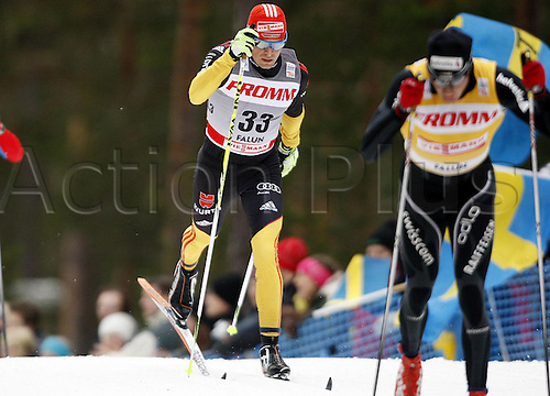 17 03 2012   Falun Sweden Ski Nordic Cross-country skiing FIS World Cup 15km Mass start  classic Picture shows Tobias Angerer ger