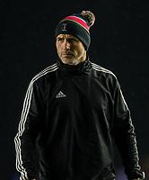 Harlequins' Head Coach Paul Gustard<br /> <br /> Photographer Bob Bradford/CameraSport<br /> <br /> European Rugby Heineken Champions Cup Pool 3 - Harlequins v Bath Rugby - Saturday 23rd November 2019 - Twickenham Stoop - London<br /> <br /> World Copyright © 2019 CameraSport. All rights reserved. 43 Linden Ave. Countesthorpe. Leicester. England. LE8 5PG - Tel: +44 (0) 116 277 4147 - admin@camerasport.com - www.camerasport.com