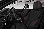 Front seat view of 2017 BMW 1-Series Sport 5 Door Hatchback front seat car photos